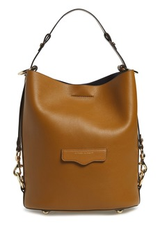 Rebecca Minkoff Utility Convertible Leather Bucket Bag
