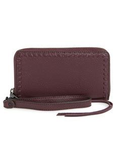 Rebecca Minkoff Vanity Leather Smartphone Wristlet