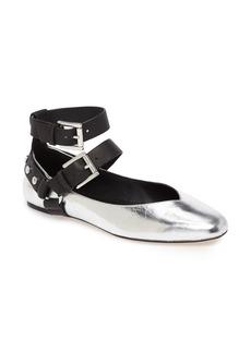 Rebecca Minkoff Vivica Ankle Strap Flat (Women)