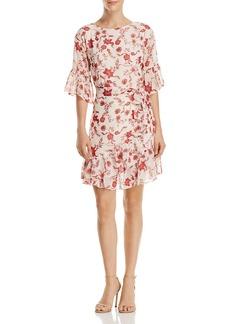 Rebecca Minkoff Wendy Ruffled Floral-Print Dress