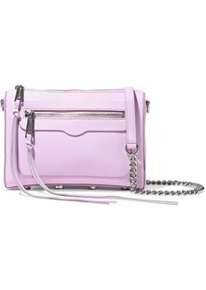 Rebecca Minkoff Woman Avery Textured-leather Shoulder Bag Baby Pink