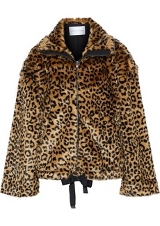 Rebecca Minkoff Woman Brigit Leopard-print Faux Fur Jacket Animal Print