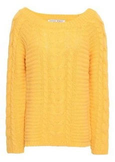 Rebecca Minkoff Woman Cable-knit Sweater Yellow