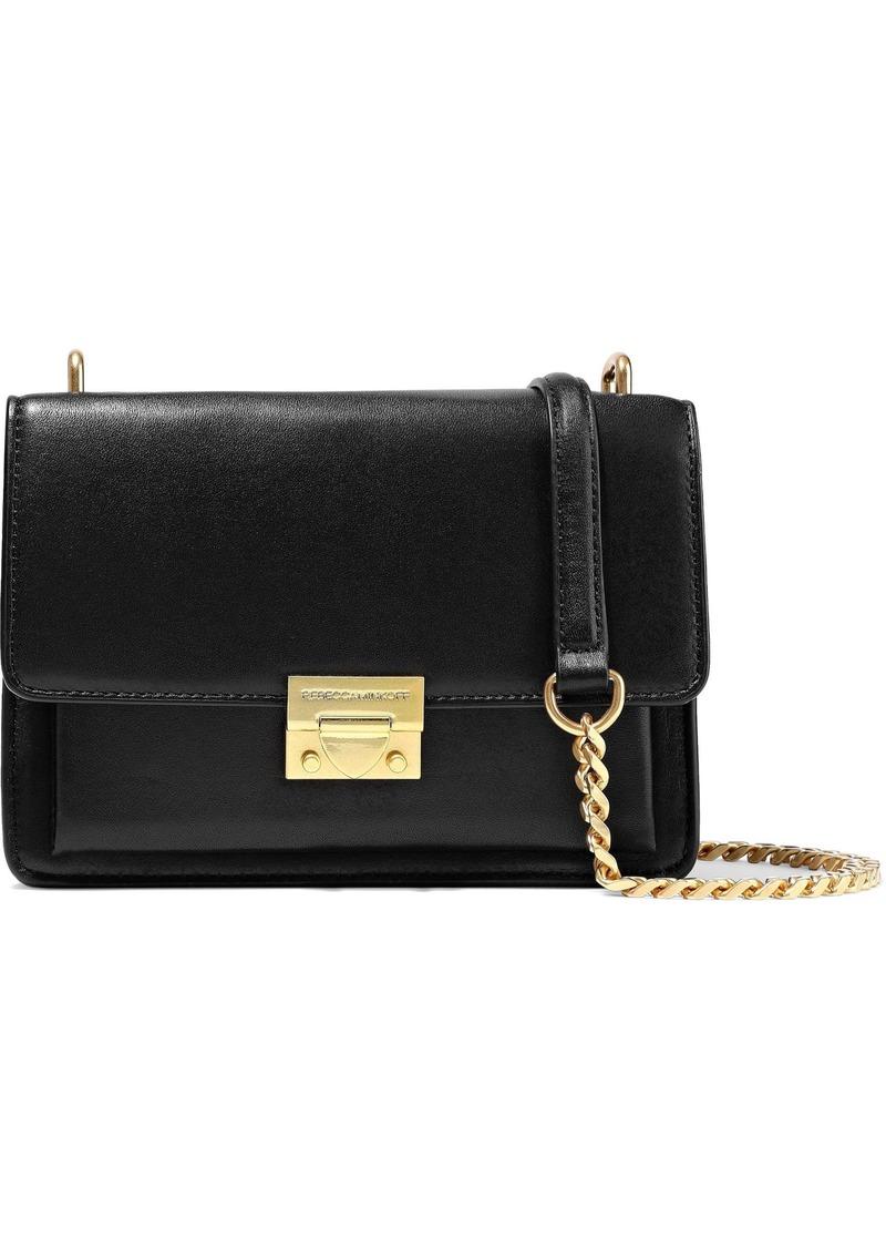 Rebecca Minkoff Woman Christy Leather Shoulder Bag Black