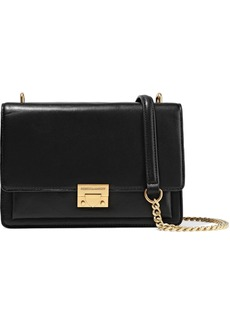 Rebecca Minkoff Woman Christy Medium Leather Shoulder Bag Black