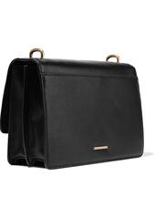 Rebecca Minkoff Woman Christy Medium Leather Shoulder Bag Black
