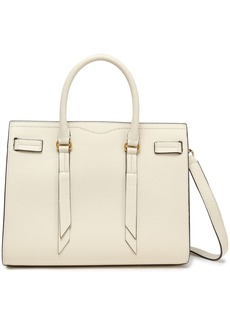Rebecca Minkoff Woman Color-block Pebbled-leather Tote Cream