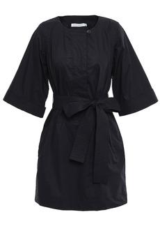 Rebecca Minkoff Woman Cotton-poplin Mini Dress Black