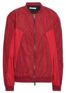 Rebecca Minkoff Woman Darma Paneled Shell Bomber Jacket Crimson