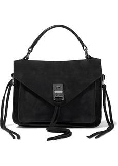 Rebecca Minkoff Woman Darren Suede Shoulder Bag Black
