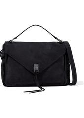 Rebecca Minkoff Woman Darren Nubuck Shoulder Bag Black