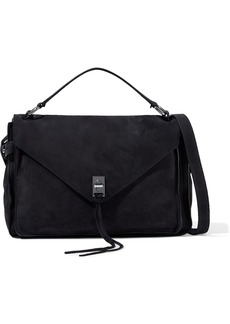 Rebecca Minkoff Woman Darren Nubuck Shoulder Bag Black