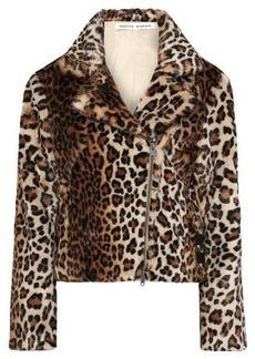 Rebecca Minkoff Woman Hudson Leopard-print Faux Fur Jacket Animal Print
