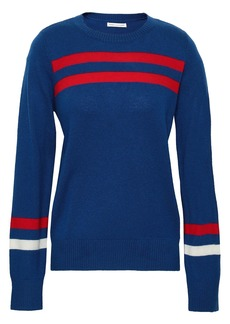Rebecca Minkoff Woman Intarsia-knit Wool And Cashmere-blend Sweater Red