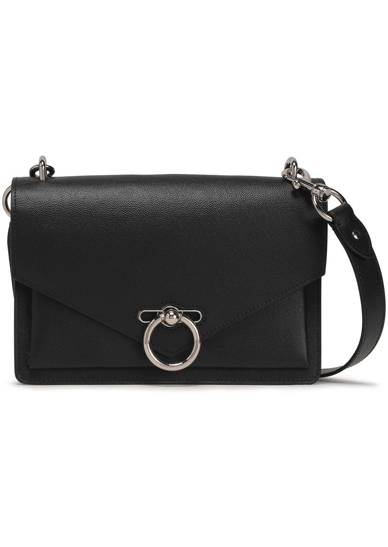 Rebecca Minkoff Woman Jean Pebbled-leather Shoulder Bag Black