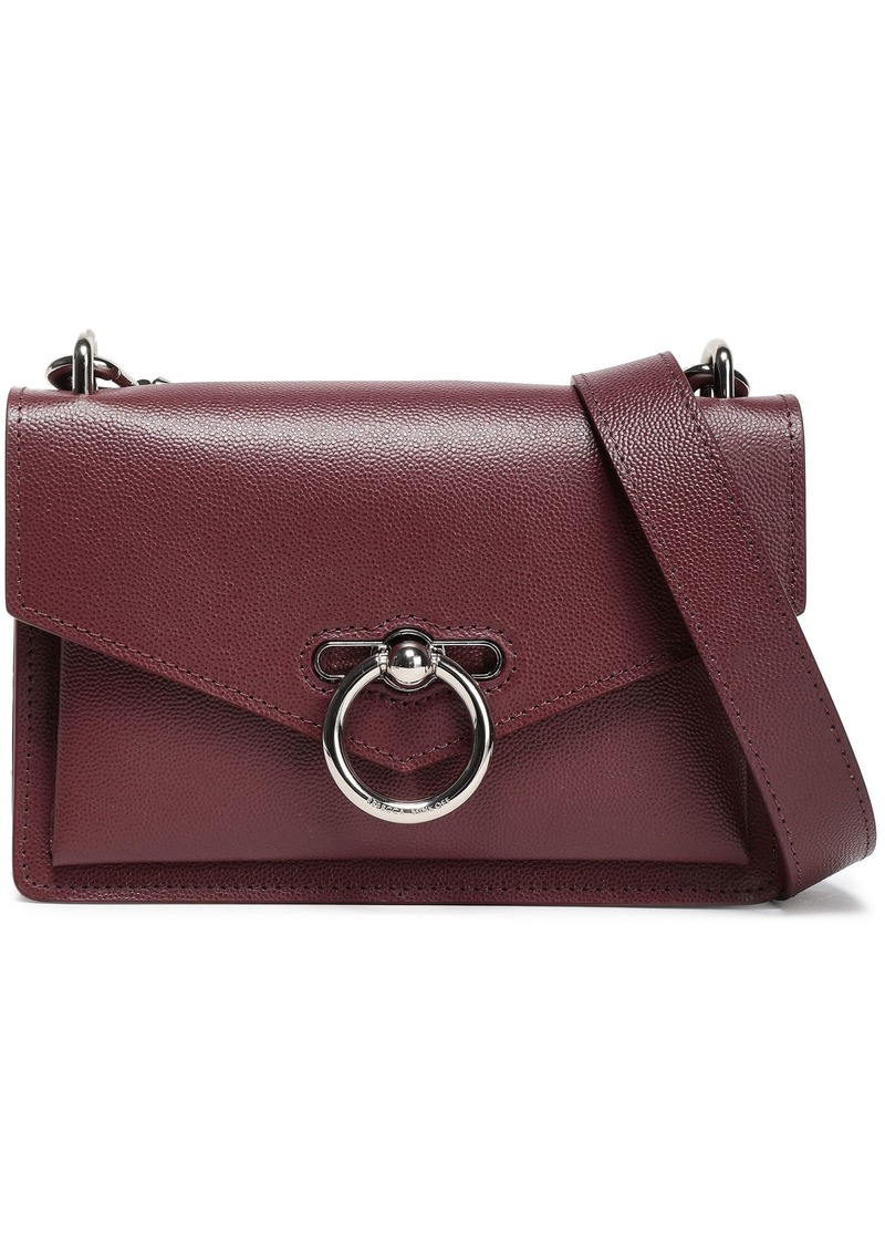 Rebecca Minkoff Woman Jean Pebbled-leather Shoulder Bag Merlot