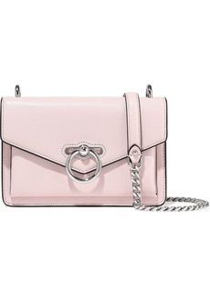Rebecca Minkoff Woman Jean Pebbled-leather Shoulder Bag Pastel Pink