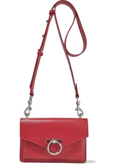 Rebecca Minkoff Woman Jean Pebbled-leather Shoulder Bag Red