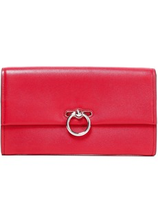 Rebecca Minkoff Woman Jean Textured-leather Clutch Red