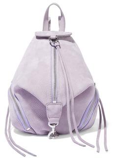 Rebecca Minkoff Woman Julian Mini Convertible Nubuck Backpack Lavender