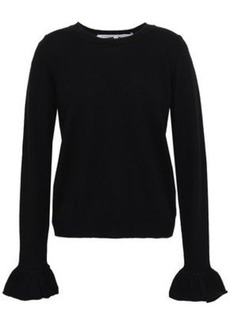 Rebecca Minkoff Woman Juliette Wool And Cashmere-blend Sweater Black