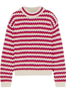Rebecca Minkoff Woman Katherine Jacquard Sweater Red