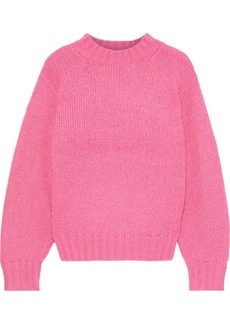 Rebecca Minkoff Woman Lilian Knitted Sweater Bright Pink