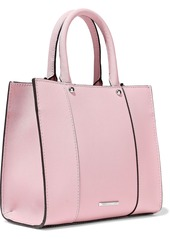 Rebecca Minkoff Woman M.a.b. Textured-leather Tote Baby Pink