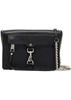 Rebecca Minkoff Woman M.a.b. Pebbled-leather Shoulder Bag Black