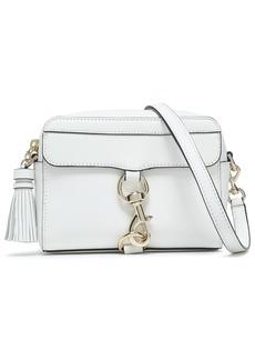 Rebecca Minkoff Woman M.a.b. Tasseled Textured-leather Shoulder Bag White