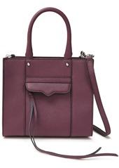 Rebecca Minkoff Woman M.a.b. Textured-leather Tote Purple