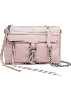 Rebecca Minkoff Woman M.a.c. Mini Leather Shoulder Bag Baby Pink