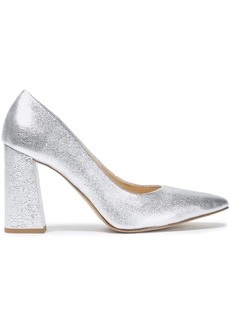 Rebecca Minkoff Woman Metallic Leather Pumps Silver