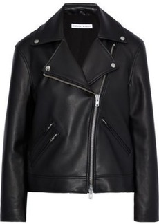 Rebecca Minkoff Woman Payton Leather Biker Jacket Black