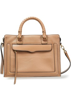 Rebecca Minkoff Woman Pebbled And Smooth-leather Tote Camel