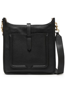 Rebecca Minkoff Woman Pebbled-leather Shoulder Bag Black