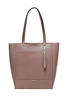 Rebecca Minkoff Woman Pebbled-leather Tote Taupe