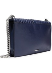 Rebecca Minkoff Woman Quilted Leather Shoulder Bag Navy