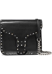 Rebecca Minkoff Woman Studded Leather Shoulder Bag Black