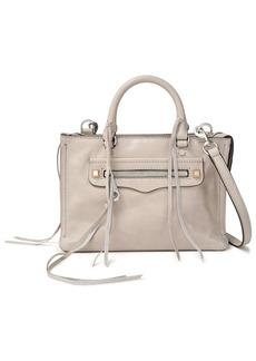 Rebecca Minkoff Woman Studded Leather Shoulder Bag Taupe