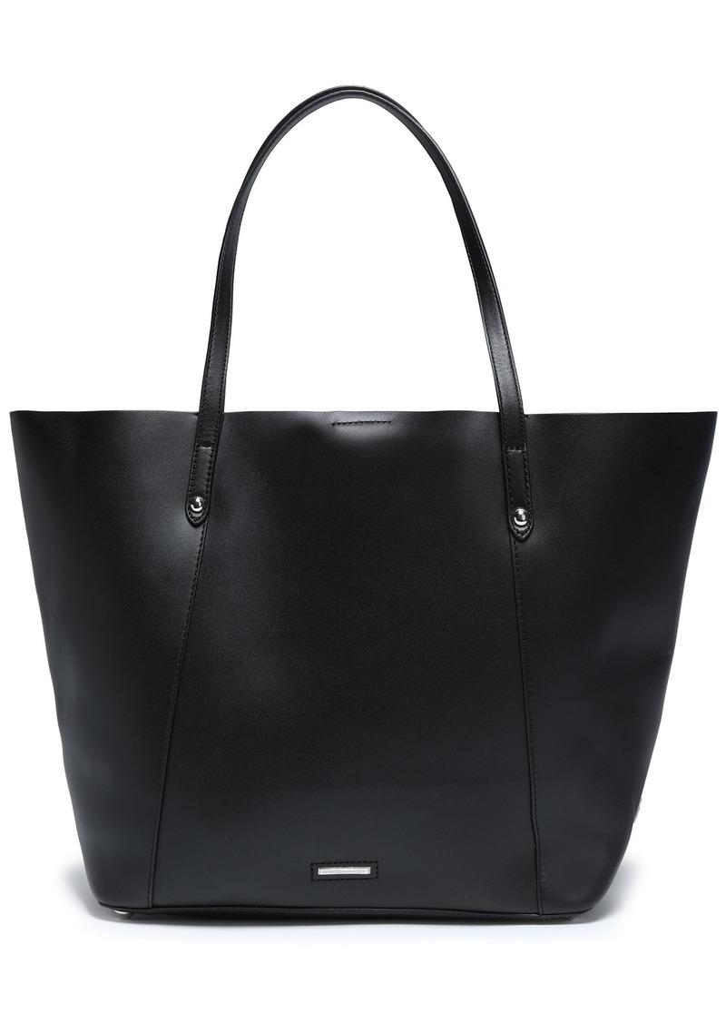 Rebecca Minkoff Woman Studded Leather Tote Black