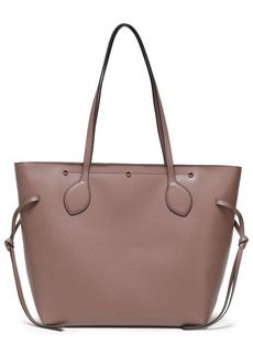 Rebecca Minkoff Woman Studded Pebbled-leather Tote Taupe