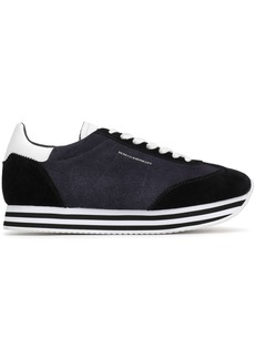 Rebecca Minkoff Woman Suede Sneakers Black