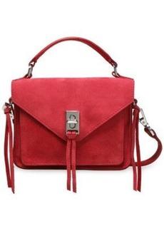 Rebecca Minkoff Woman Tasseled Suede Shoulder Bag Crimson