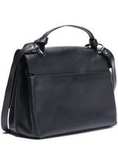 Rebecca Minkoff Woman Textured-leather Shoulder Bag Black
