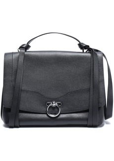 Rebecca Minkoff Woman Textured-leather Shoulder Bag Black