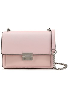 Rebecca Minkoff Woman Textured-leather Shoulder Bag Blush