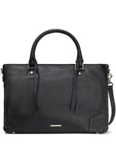 Rebecca Minkoff Woman Textured-leather Tote Black