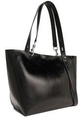 Rebecca Minkoff Woman Textured-leather Tote Black