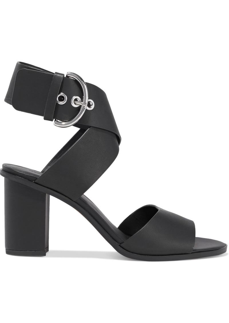 Rebecca Minkoff Woman Valaree Leather Sandals Black